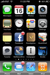 cPhone apps, page 1