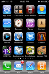 cPhone apps, page 2