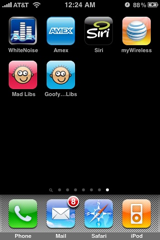cPhone apps, page 7