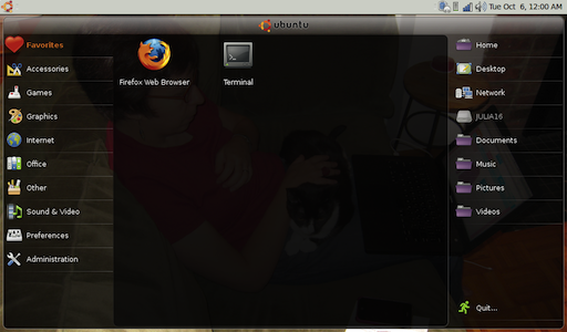 Julia's UNR desktop